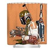 Star Wars Episode 1 Art Shower Curtain