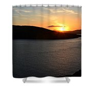 Sunset Dingle Shower Curtain