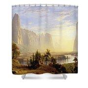 Yosemite Valley Shower Curtain
