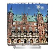Zealand Denmark Shower Curtain
