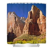 212437 Court Of The Patriarchs Shower Curtain