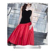 Fashion Shoot Shower Curtain