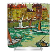 Yachts Shower Curtain