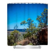 Nature Drawing Shower Curtain