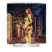 Shay Hendrix Shower Curtain