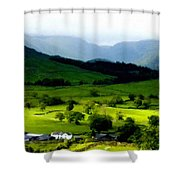 Show Landscape Shower Curtain