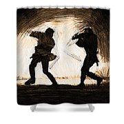 Star Wars A Art Shower Curtain