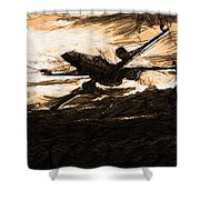 Star Wars A Poster Shower Curtain