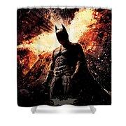 The Dark Knight Rises 2012  Shower Curtain