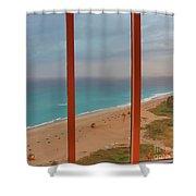22- Windows On Paradise Shower Curtain