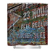 23 Hours Shower Curtain