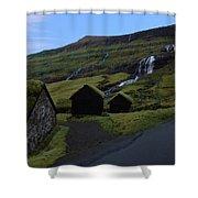 The Faroe Islands  Shower Curtain