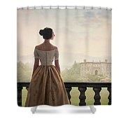 Victorian Woman Shower Curtain