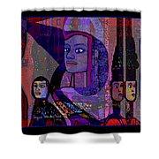 238 - She Looks Like An Egyptian 2017 Shower Curtain