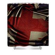 British Flag 5 Shower Curtain