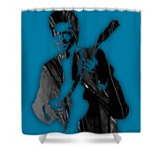 Chuck Berry Collection Shower Curtain
