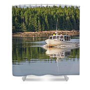 Down East Maine  Shower Curtain