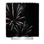 Fireworks Shower Curtain