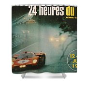 24 Hours Of Le Mans - 1971 Shower Curtain