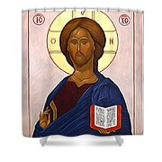jesus Christ Son Of God Shower Curtain