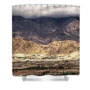 Landscape Of Ladakh Jammu And Kashmir India Shower Curtain