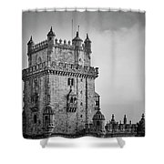 Lisbon Portugal Shower Curtain