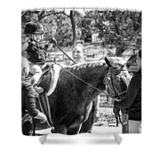 Manito Equestrian Center Benefit Horse Show Shower Curtain