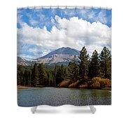 Mt. Lassen National Park Shower Curtain