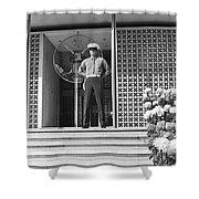 American Embassy New Delhi India Shower Curtain