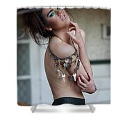 Sab Five Five Various Magazine Various Countries Shower Curtain