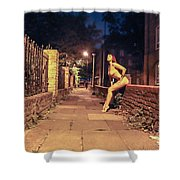 Shay Hendrix Shower Curtain