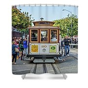 2416- Cable Car Shower Curtain