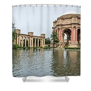 2464- Palace Of Fine Arts Shower Curtain