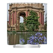 2482- Palace Of Fine Arts Shower Curtain