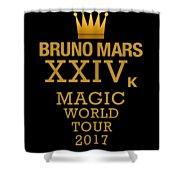 24k Magic Shower Curtain