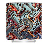 24th Street Tall Building Phoenix #3 Shower Curtain