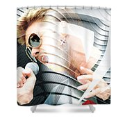 George Michael Collection Shower Curtain