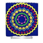 Mandala Ornament Shower Curtain