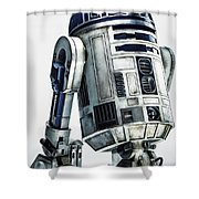 The Force Awakens Shower Curtain