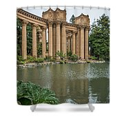 2515- Palace Of Fine Arts Shower Curtain