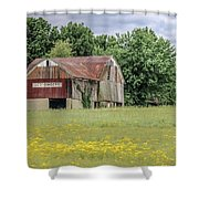 257 Wooster_fa Shower Curtain