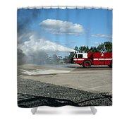 Firefighting Shower Curtain