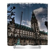 Hamburg Germany Shower Curtain