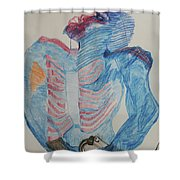 St Michael The Archangel Shower Curtain