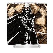 Star Wars On Art Shower Curtain