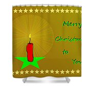 2611 Merry Christmas To You 2018 Shower Curtain