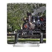 267 - Roaring Camp Train No 7 Hdr Shower Curtain
