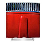 2674- Red Volkswagen  Shower Curtain