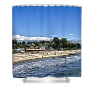 268 - Capitola Village 1hdr Shower Curtain