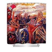 26899 Jesus De Perceval Shower Curtain